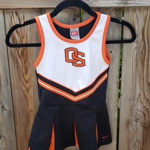 Oregon State 4T Cheerleader outfit,Nike